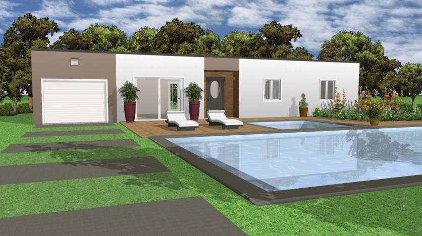 Dachgestaltung mit Architekt 3D©