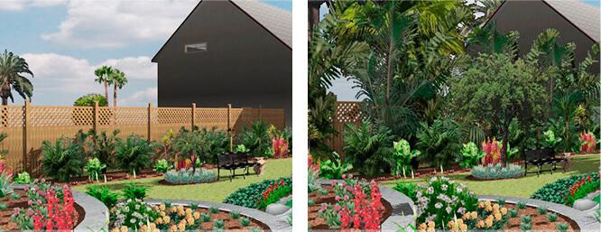 Garten entwerfen und gestalten