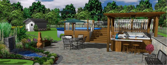 Außenbereichgestaltung und mehr