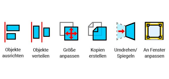 """Werkzeuggruppe """"Verschieben"""" [new]"""