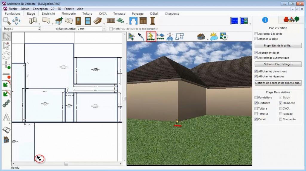 Parcours Animé Architekt 3D