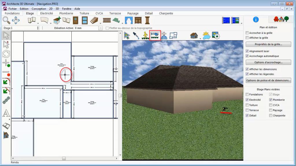 Survol Animé Architekt 3D