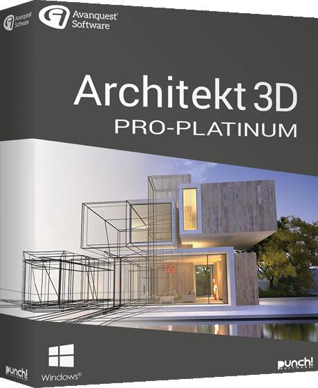 Herunterladen Architekt 3D Pro Platinum
